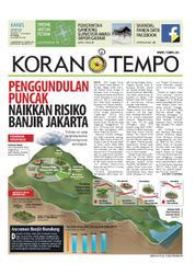 Cover Koran TEMPO 22 Maret 2018