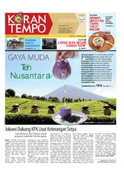 Cover Koran TEMPO 24 Maret 2018