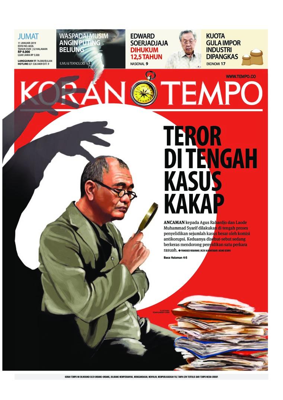 Koran Digital Koran TEMPO 11 Januari 2019