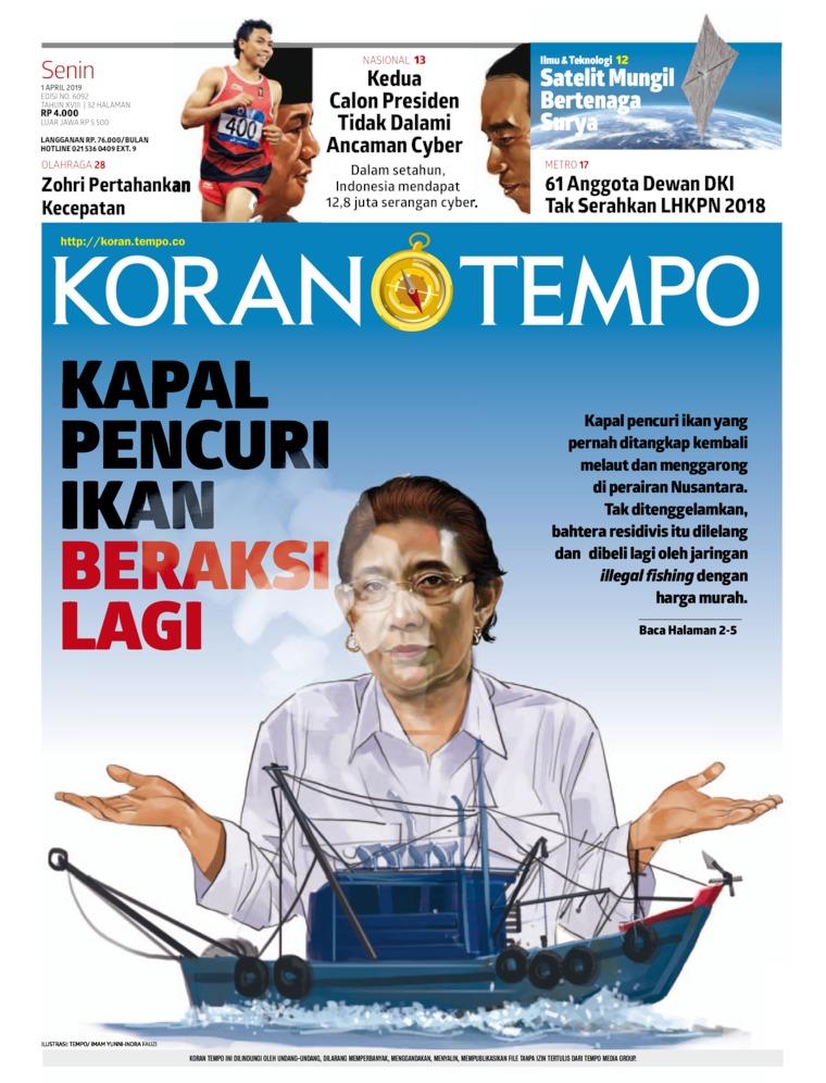 Koran Digital Koran TEMPO 01 April 2019