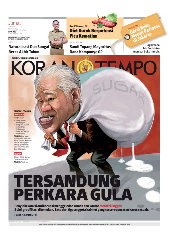 Koran TEMPO Digital Newspaper 03 May 2019