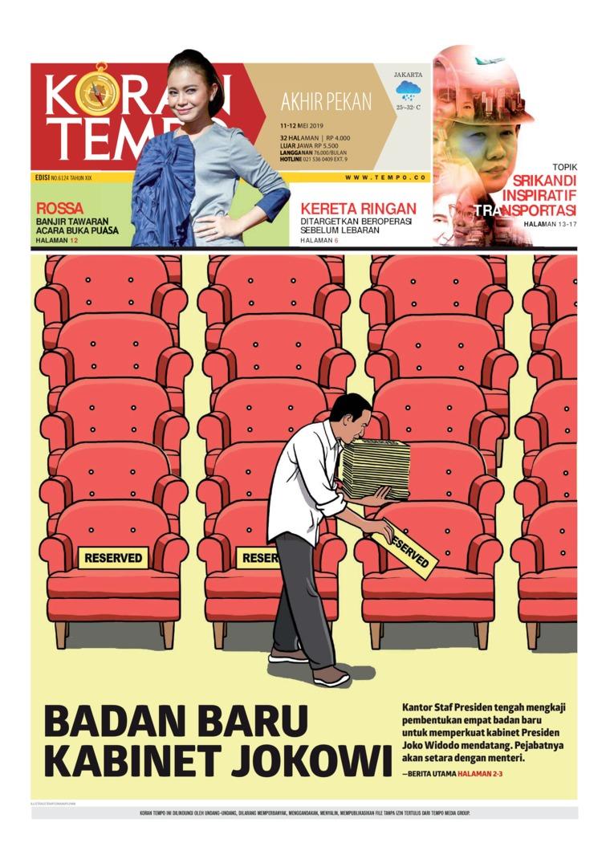 Koran TEMPO Digital Newspaper 11 May 2019