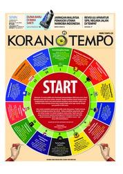 Cover Koran TEMPO 19 Februari 2018