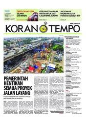 Cover Koran TEMPO 21 Februari 2018