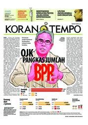Cover Koran TEMPO 22 Februari 2018