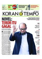 Cover Koran TEMPO 23 Februari 2018