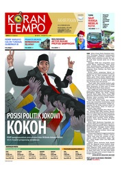 Cover Koran TEMPO 24 Februari 2018
