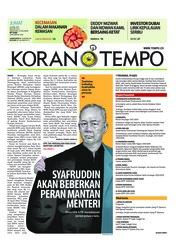 Cover Koran TEMPO 20 April 2018