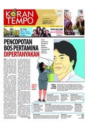 Cover Koran TEMPO 21 April 2018