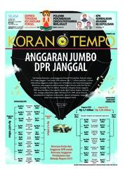 Cover Koran TEMPO 24 April 2018