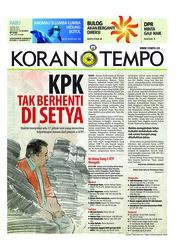 Cover Koran TEMPO 25 April 2018