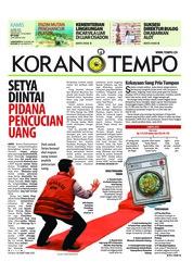 Cover Koran TEMPO 26 April 2018