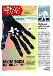 Cover Koran TEMPO 19 Mei 2018