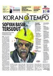 Cover Koran TEMPO 17 Juli 2018