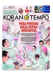 Cover Koran TEMPO 16 Agustus 2018