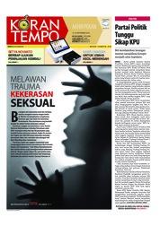 Cover Koran TEMPO 15 September 2018