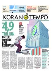 Cover Koran TEMPO 17 September 2018