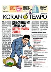 Cover Koran TEMPO 18 September 2018