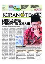 Cover Koran TEMPO 20 September 2018