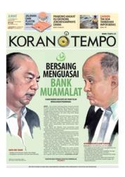 Cover Koran TEMPO 21 September 2018