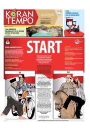Cover Koran TEMPO 22 September 2018