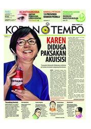 Cover Koran TEMPO 26 September 2018