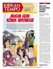 Cover Koran TEMPO 13 Oktober 2018