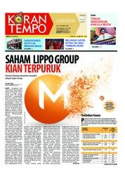 Cover Koran TEMPO 20 Oktober 2018