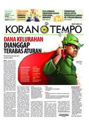 Cover Koran TEMPO 23 Oktober 2018