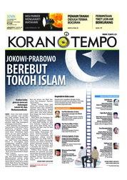 Cover Koran TEMPO 12 November 2018