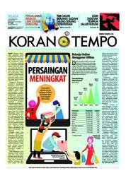 Cover Koran TEMPO 13 November 2018