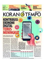 Cover Koran TEMPO 15 November 2018