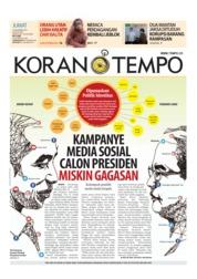 Cover Koran TEMPO 16 November 2018
