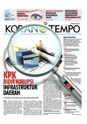 Cover Koran TEMPO 21 November 2018
