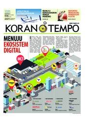 Cover Koran TEMPO 03 Desember 2018