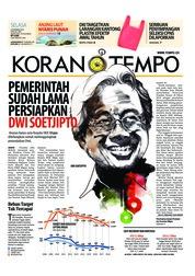 Cover Koran TEMPO 04 Desember 2018