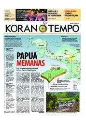 Cover Koran TEMPO 05 Desember 2018