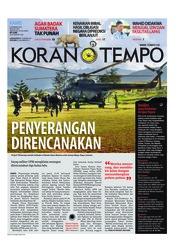 Cover Koran TEMPO 06 Desember 2018
