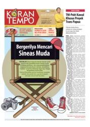 Cover Koran TEMPO 08 Desember 2018