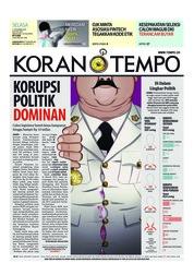 Cover Koran TEMPO 11 Desember 2018