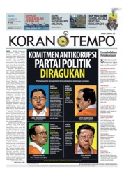 Cover Koran TEMPO 12 Desember 2018