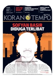 Cover Koran TEMPO 13 Desember 2018