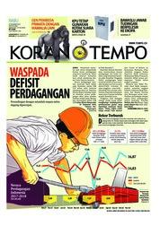 Cover Koran TEMPO 19 Desember 2018