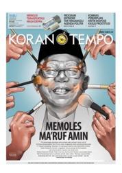 Cover Koran TEMPO 09 Januari 2019