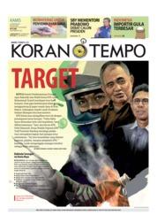 Cover Koran TEMPO 10 Januari 2019