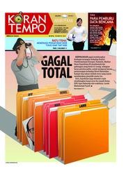Cover Koran TEMPO 12 Januari 2019