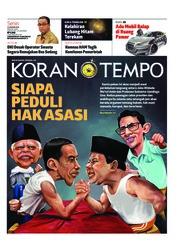 Cover Koran TEMPO 14 Januari 2019