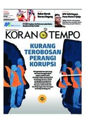Cover Koran TEMPO 16 Januari 2019