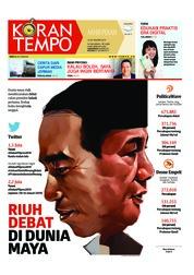 Cover Koran TEMPO 19 Januari 2019