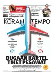 Cover Koran TEMPO 21 Januari 2019